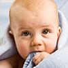 Beautiful Baby Sucking Blanket