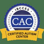 certified autism center badge