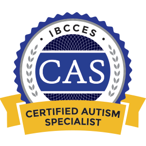 Certified Autism Specialist certification badge