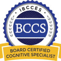 BCCS-Board certified cognitive specialist training and certification badge by IBCCES