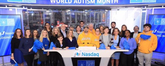 Dr. Stephen Shore Rings the Bell for Autism Awareness