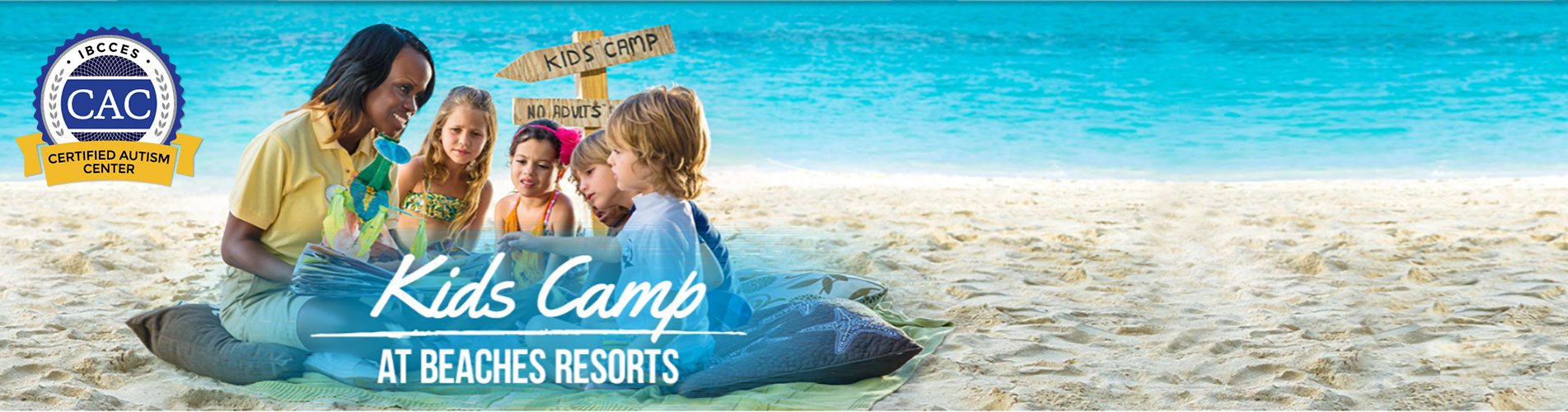 beaches resorts designated certified autism centers