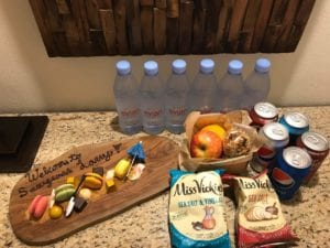Sawgrass Marriott personalized snacks and food for guest with autism