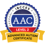 Advanced Autism Certificate from IBCCES AAC-badge
