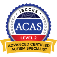 Advanced Certified Autism Specialist from IBCCES ACAS-badge