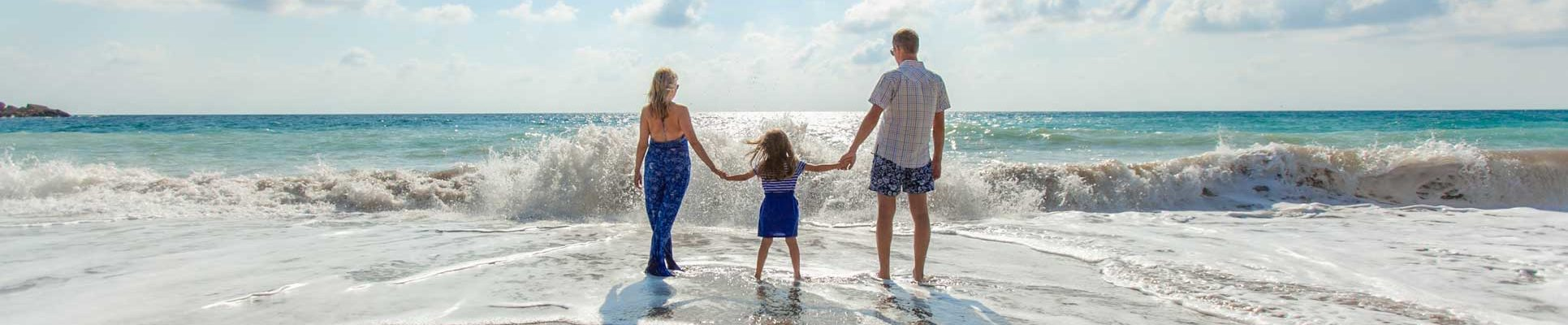 Family-at-the-beach-certified-autism-center-travel-destination