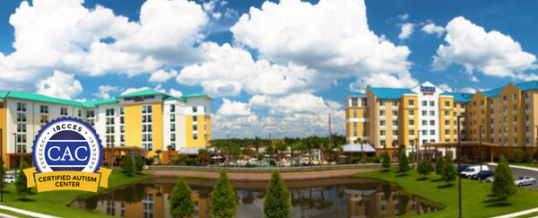 SpringHill Suites by Marriott and Fairfield Inn & Suites by Marriott Orlando at SeaWorld – Certified Autism Center™