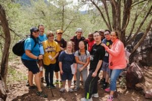 Arizona Disabled Sports group hike photo