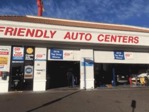Friendly Auto Centers front exterior
