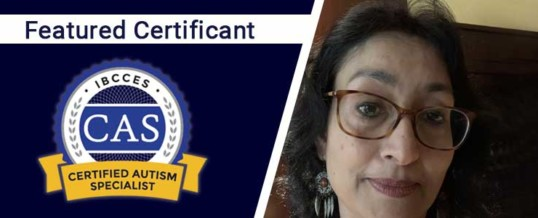 Featured Certified Autism Specialist: Rajashree Srirangarajan