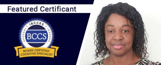 Featured Board Certified Cognitive Specialist: Sherine Brown
