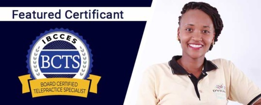 Featured Board Certified Telepractice Specialist: Perpetua Omondi