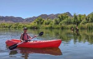 Saguaro Lake Guest Ranch kayaking
