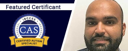 Featured Certified Autism Specialist: Vikram Pagpatan
