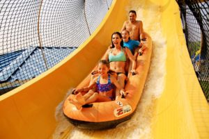 Water World - Family on Mile High Flyer