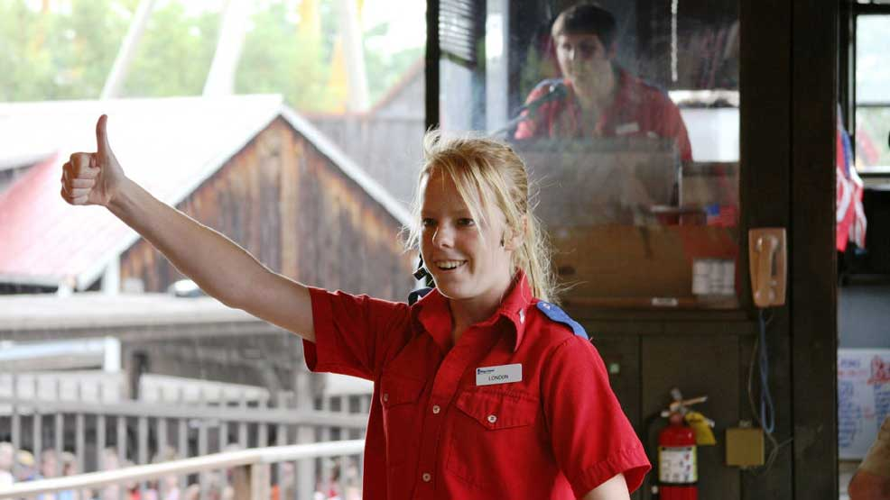 Kings Island staff member