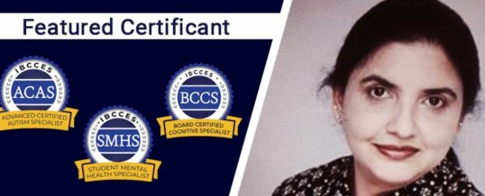 Featured Certificant: Monisha Karandikar