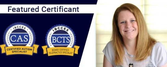 Featured Certificant: Rachel C. Morgan