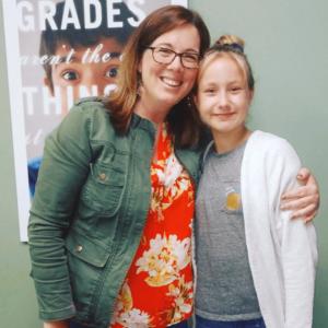 LearningRx Staunton-Harrisonburg: staff member with student smiling