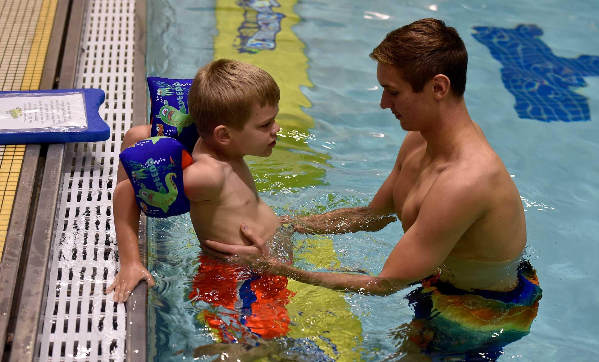 Autism Center at Misericordia - swim lessons