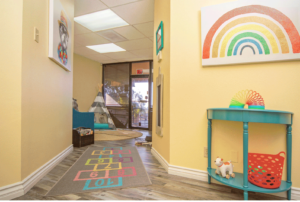 Children's Therapy Network therapy room