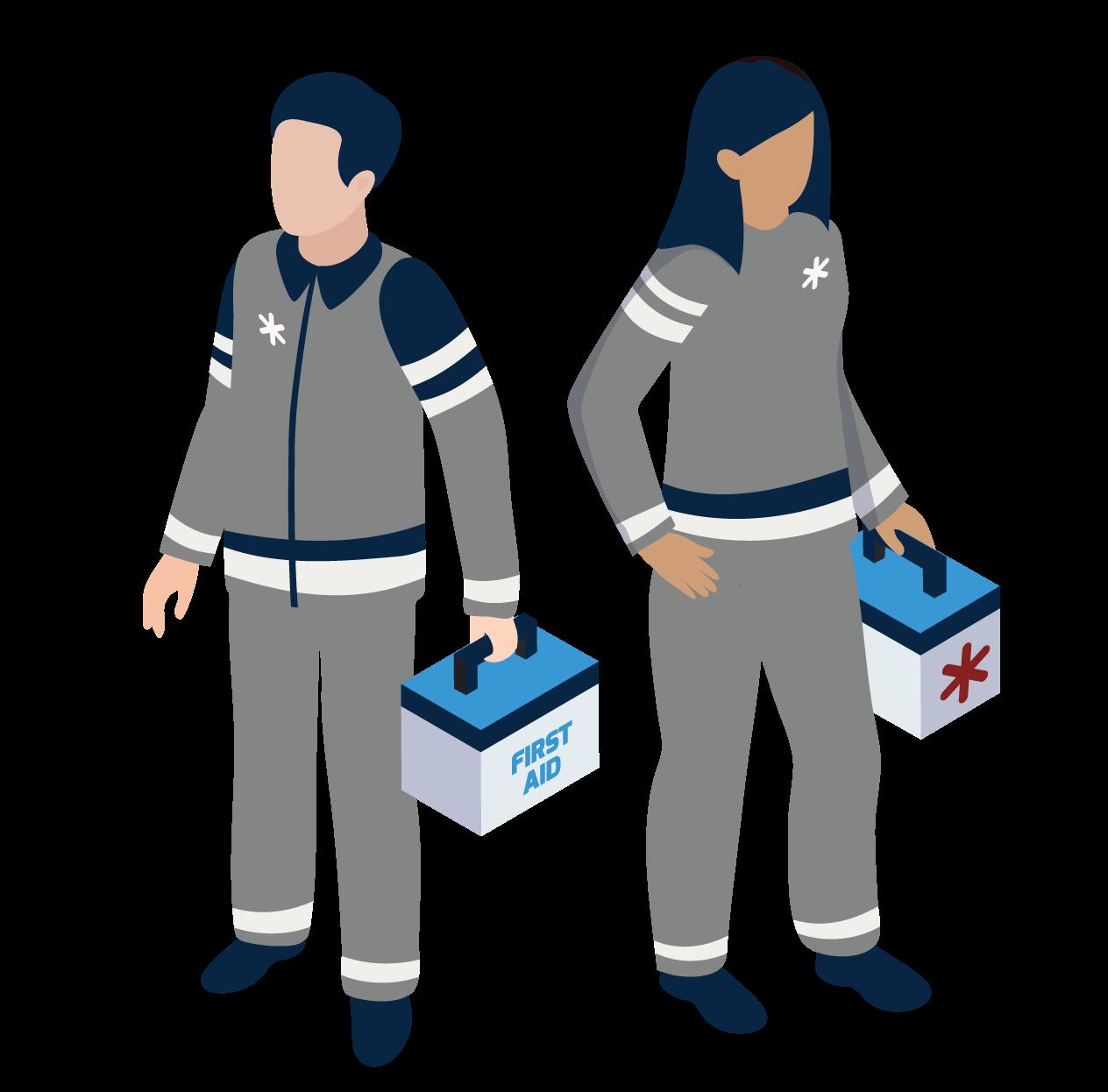 EMT first responders
