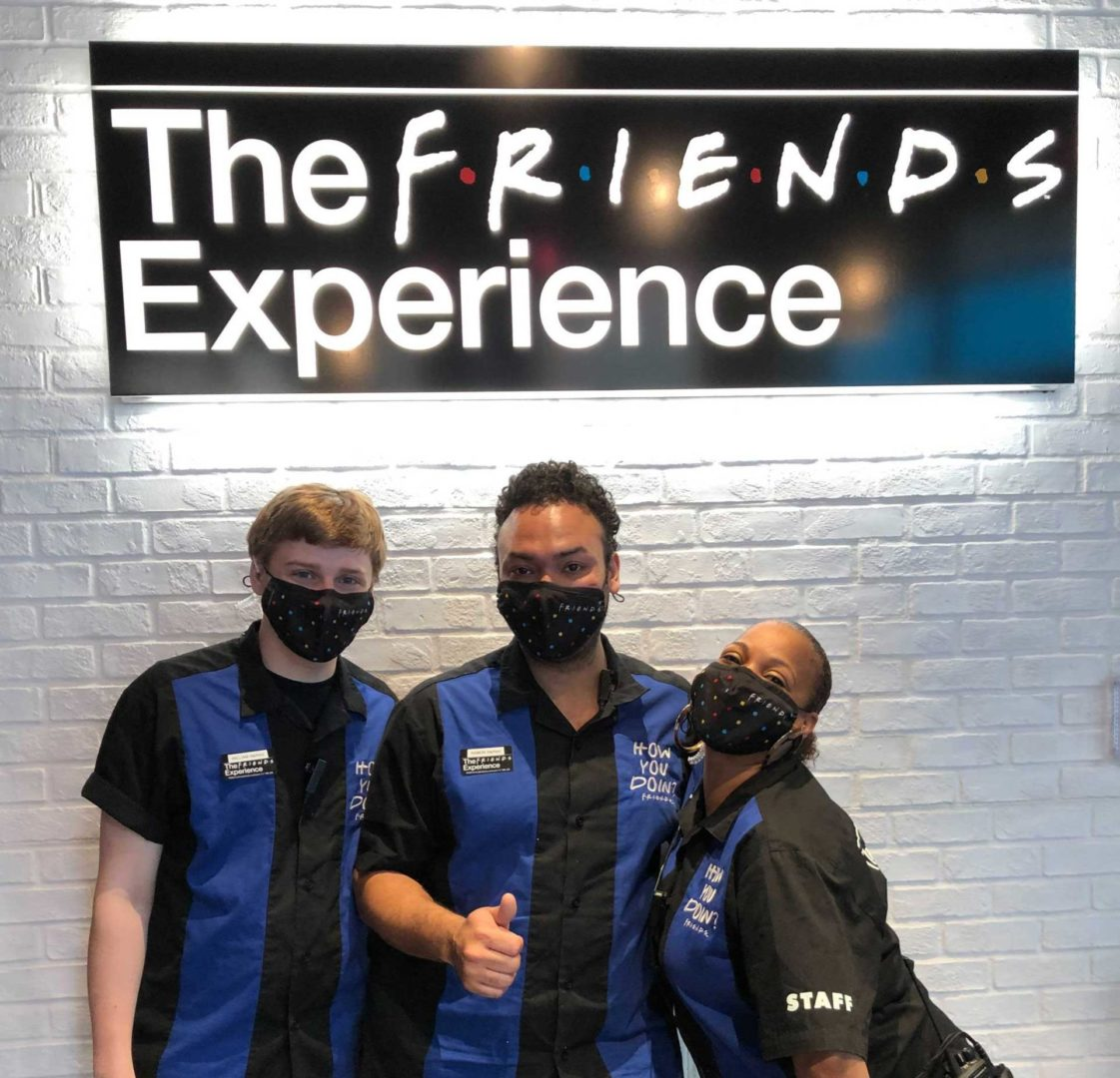 The FRIENDS™ Experience staff group photo