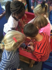 Kids playing together at Strawbridge UMC