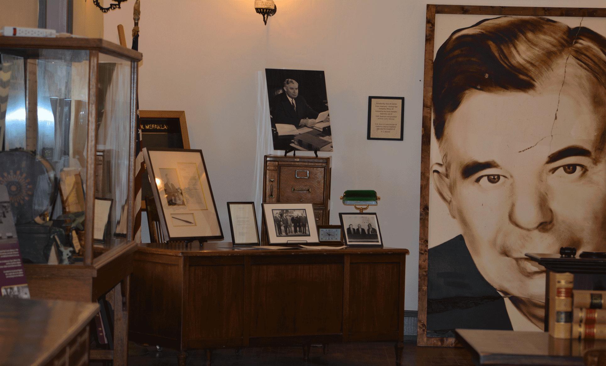 McFarland museum exhibit