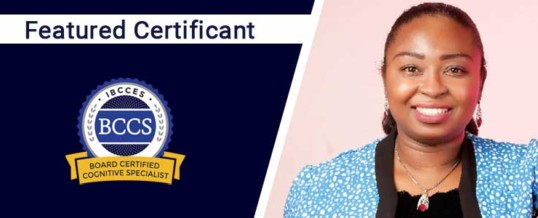 Featured Certificant: Adetoun F. Agboola