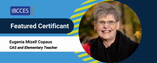 Featured Certificant: Eugenia Mizell Copaus