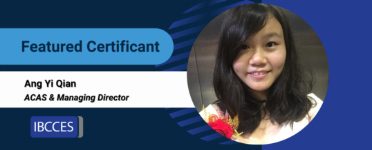 Featured Certificant: Ang Yi Qian