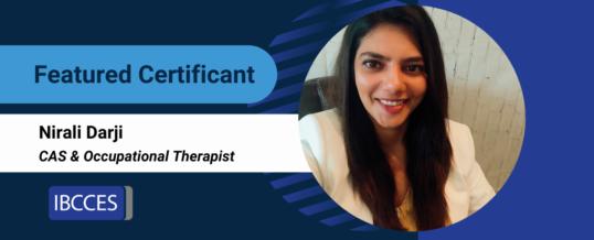 Featured Certificant: Nirali Darji