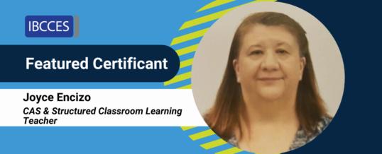 Featured Certificant: Joyce Encizo